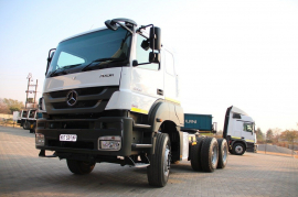 Mercedes Benz, 3340 Axor, 6x4 Drive, Truck Tractor, Used, 2014