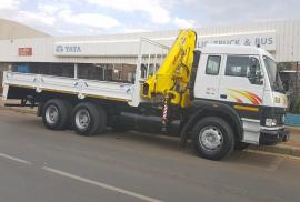 Tata, LPT 2523, 6x4 Drive, Crane Truck, New, 2021