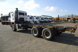 MAN, 33.480 Rigid 14 Ton Tag Axle, 6x2 Drive, Chassis Cab Truck, Used, 2016