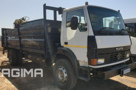 Tata, 1918c with Steel Claw, LWB, Crane Truck, Used, 2006