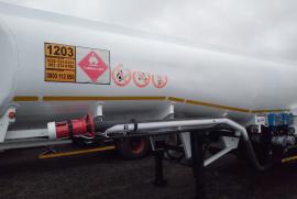 GRW, Tank clinic 37 000 lt  , Fuel Tanker Trailer, Used, 2007