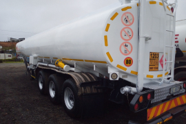 GRW, Tank clinic 37 000 lt  , Fuel Tanker Trailer, Used, 2007