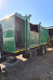 Other, TFM compactor, LWB, Waste Compactor Truck, Used, 2015
