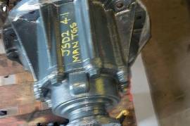 Truck Parts, MAN, TGS DIFFS 4:1, Axels, Used
