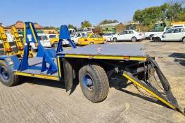 Other, utility / Cable cart, Double Axle Trailer, Used