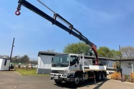 Isuzu, FVZ1400, 6x4 Drive, Crane Truck, Used, 2007
