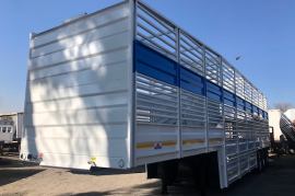UBT, Cattle Body Trailer, New, 2020