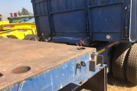 Henred, Superlink , Flat Deck Trailer, Used