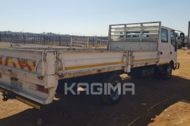 Hino, 300 Double Cab , 4x2 Drive, Dropside Truck, Used, 2012