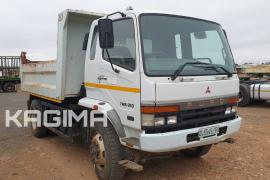 Fuso, FM15-253 6 Cube, 4x2 Drive, Tipper Truck, Used, 2006