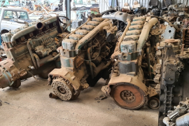 Truck Parts, Mercedes-Benz, OM 346, Engine, Used