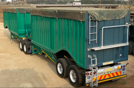 Afrit, Link, Bottom Dumper Trailer, Used, 2017