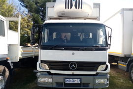 Mercedes Benz, 1317, 8 Ton, Refrigerated Truck, Used, 2006