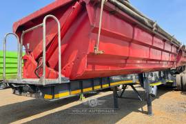 SA Truck Bodies, Side Tipper Trailer, Used, 2016