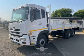 UD, Quon 26-490, 6x4 Drive, Dropside Truck, Used, 2014