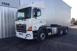 Hino, 700 2841, 6x4 Drive, Truck Tractor, Used, 2015
