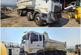 UD, Quester CGE 420 - 8x4, 8x4 Drive, Tipper Truck, Used, 2017