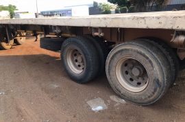 SA Truck Bodies, Superlink , Flat Deck Trailer, Used, 2007
