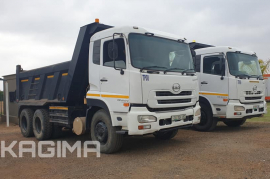 Nissan, UD Quon 370 10 Cube , 6x4 Drive, Tipper Truck, Used, 2013