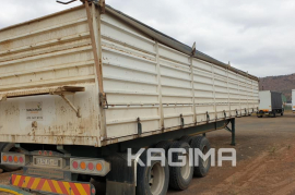 SA Truck Bodies, Mass Sides, Tri-Axle Trailer, Used, 2013