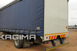 Isuzu, FVR900 , 4x2 Drive, Curtain Side Truck, Used, 2008