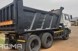Nissan, UD290 10 Cube, 6x4 Drive, Tipper Truck, Used, 2006