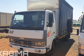 Tata, 813, 4x2 Drive, Curtain Side Truck, Used, 2012