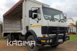 Mercedes Benz, Econoliner, 4x2 Drive, Curtain Side Truck, Used, 1987