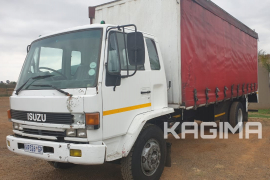 Isuzu,  F Series , LWB, Curtain Side Truck, Used, 1990