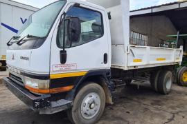 Mitsubishi, Canter 3ton, 4x4 Drive, Tipper Truck, Used, 2000