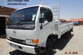 Nissan, UD 40, 4x2 Drive, Dropside Truck, Used, 2012