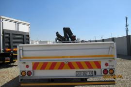 Tata, 1518, 8 Ton, Crane Truck, Used, 2007