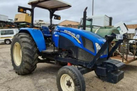 New Holland, 4x2, 2WD, Tractor, Used, 2016