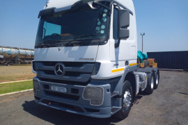 Mercedes Benz, Actros 26 44 , 6x4 Drive, Truck Tractor, Used, 2011