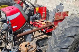 Massey Ferguson, 455 Extra, 4WD, Tractor, Used, 2015