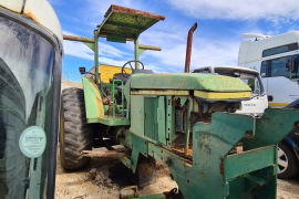 John Deere, 6205 4wd, 4WD, Tractor, Used, 1998