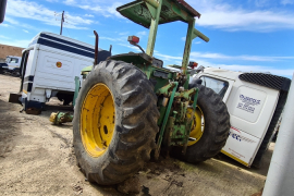 John Deere, 6205 4wd, 4WD, Tractor, Used, 1998