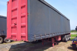 Kearneys, ice cold Trailer Bodys, Tautliner Trailer, Used, 2003