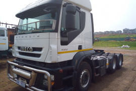 Iveco, Stralis At700s43TZsleep t/t, 6x4 Drive, Truck Tractor, Used, 2015