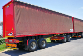 Afrit, 7.2M X 10.8M , Interlink Trailer, Used, 2016