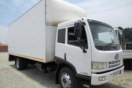 FAW, 15-180FL, 4x2 Drive, Volume Van Truck, Used, 2016