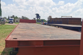 SA Truck Bodies, Flatdeck, Superlink Trailer, Used, 2003