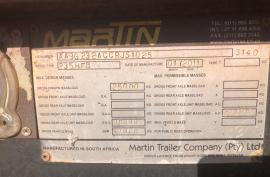 Martin, Interlink, Side Tipper Trailer, Used, 2011