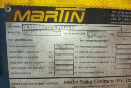 Martin, Lowbed, Lowbed Trailer, Used, 2014