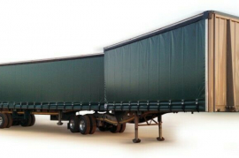 Prime, Links, Tautliner Trailer, New, 2021