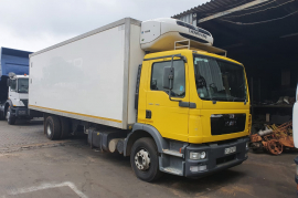 MAN, TGM15-240, 6x4 Drive, Refrigerated Truck, Used, 2017